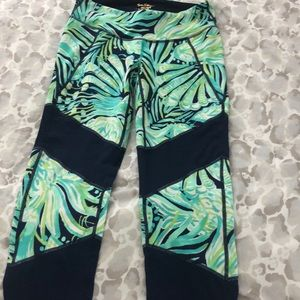 Lilly Pulitzer crop leggings